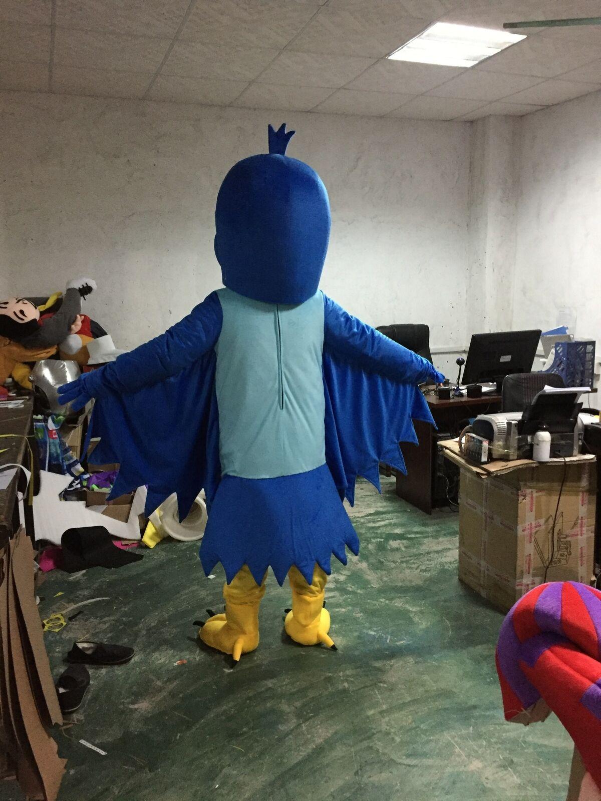 Aigle mascotte Costume costumes Cosplay partie jeu robe tenues vêtements publicité carnaval Halloween noël pâques Festival adultes - 3