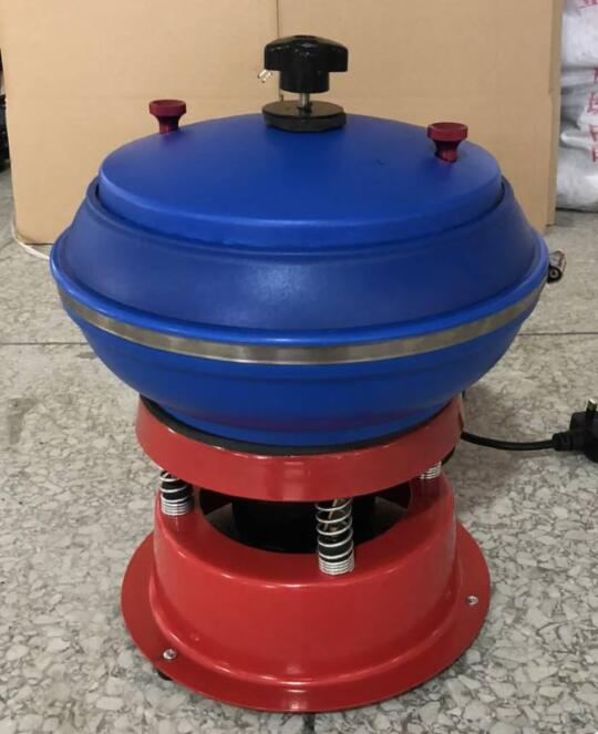 STONE JADE Amber  Vibrating Tumbler Tumbling Polishing Machine Jewelry Tools