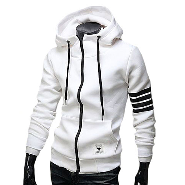 NEW Fashion Men Hoodies Brand Suit High Quality Men Sweatshirt Hoodie Casual Zipper Hooded Male M-3XL (Asia Size)