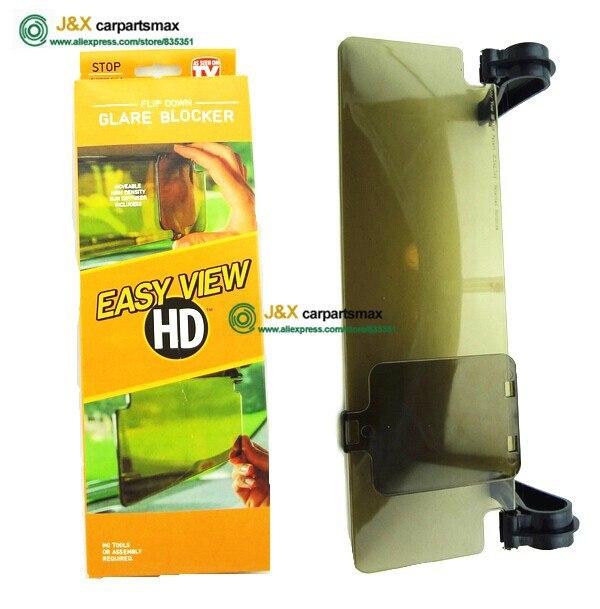 Для Clear View HD Vision дневной и ночной солнцезащитный козырек с антибликовым покрытием UV Blocker Fold Flip Down