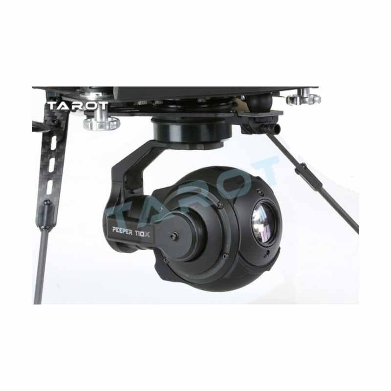 Cardan à rotule Tarot HD PEEPER T10X 250ma sans bavure FPV sphérique haute définition TL10A00 avec caméra Multicopter HD - 4
