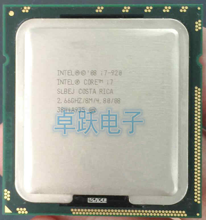 Detail Feedback Questions About Intel Core I7 920 SLBCH SLBEJ 266 GHz Quad L3 8M Processor Socket LGA1366 CPU Working 100 Free Shipping On