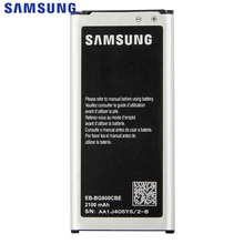 Samsung Original EB-BG800CBE Battery For Samsung GALAXY S5 mini SM-G800F G870A G870W S5mini Replacement Phone Battery 2100mAh samsung original replacement battery bateria s5 eb bg800cbe for samsung galaxy s5 mini s5mini g800f 2100mah s5mini g870a g870w