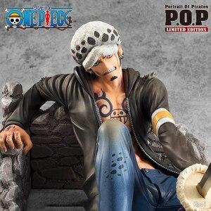 Экшн-фигурка One Piece Pop Trafalgar Law из ПВХ, коллекционные фигурки аниме, игрушки, кукла, подарки WX346