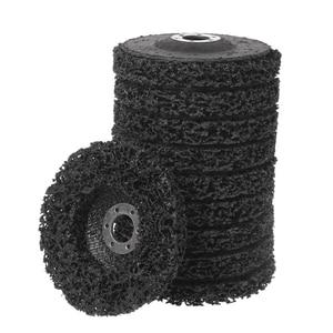 Image 4 - Poly Strip Disc Wiel Verf Roest Removal Clean Verwijderen Voor Haakse Slijper 100x16mm