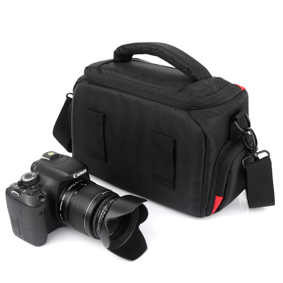2018 High Quality Waterproof Camera Bag For Canon 1300d 1100d 1200d 60d 750d Nikon Camera Fotografica Canon Dsrl Nikon Bag Case Attractive Designs; Digital Gear Bags
