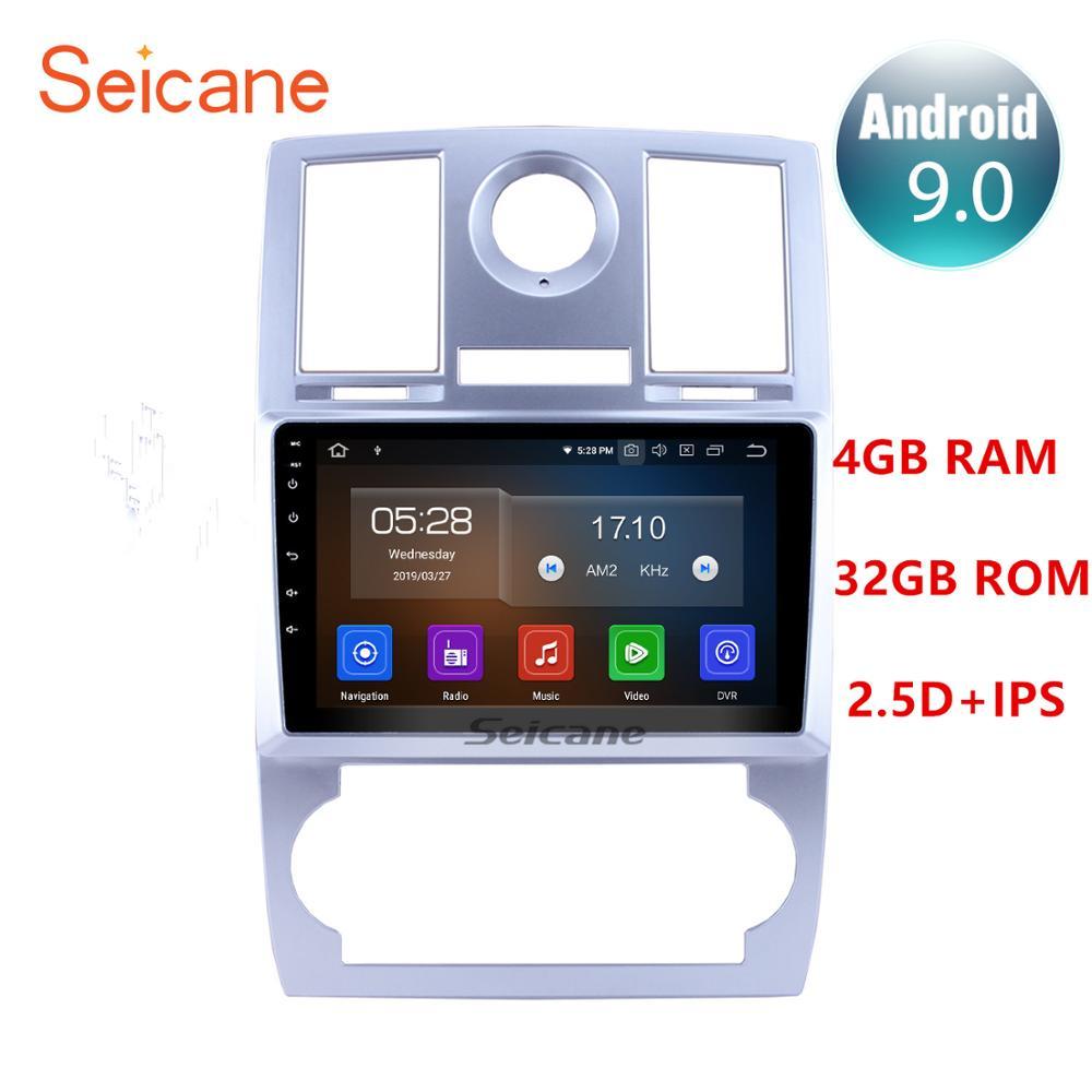 Seicane Android 9.0 Quad-core/8-core Car GPS Navigation Radio Multimedia Player For 2004 2005 2006 2007 2008 Chrysler Aspen 300C