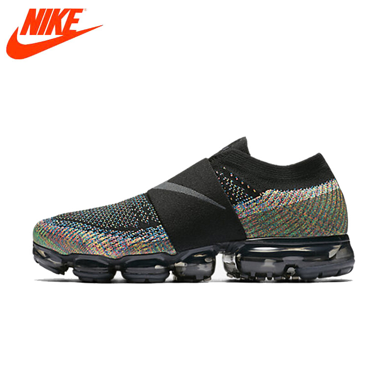 Original New Arrival Authentic Nike Women Shoes Air Vapor Max FlyLine Rainbow Cushion Cushion Comfortable Running Shoes