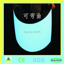 A4(210*297mm) size white electroluminescent sheet/slim lighting sheet/cool neon light with DC12v inverter+power adaptor