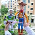 1pcs new pluh doll Toy Story Woody the cowboy doll police Buzz Lightyear PP cotton plush toys bonecas brinquedos toy baby dolls