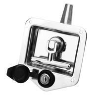 Free shipping 304 Stainless Steel Handle Lock Automobile door lock Locker lock Engineering Vehicles Panel Latch Car Accessaries