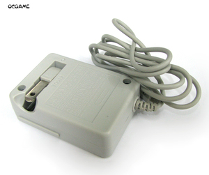 Image 1 - OCGAME 10 sztuk/partia trwałe ściany ładowarka domu zasilacz sieciowy ładowarka podróżna worek z bąbelkami pakiet US wtyczka do 3DS 3DSLL 3DSXL