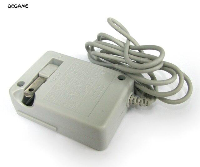 OCGAME 10 sztuk/partia trwałe ściany ładowarka domu zasilacz sieciowy ładowarka podróżna worek z bąbelkami pakiet US wtyczka do 3DS 3DSLL 3DSXL