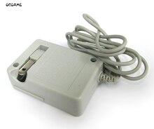 Ocgame 10 pçs/lote durável carregador de parede em casa ac adaptador de energia viagem saco bolha pacote eua plug for 3ds 3dsll 3dsxl