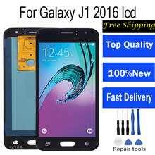 Display Touch Screen Digitizer display for Samsung j120f lcdj120f lcd For SAMSUNG GALAXY J1 2016 LCD J120 J120f J120M J120H 10pcs lot for samsung galaxy j1 2016 j120 j120f j120ds j120m j120h sm j120f front outer glass lens touch screen panel replacemen
