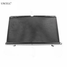 Uxcell точечный выдвижной автомобиль боковое окно солнцезащитных козырьков Лето Солнцезащитный козырек рольставни протектор 58x125 см