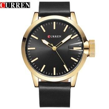 Men's Curren Luxury Brand Men Watch Fashion Casual Blue Dial Mens Watches Top Brand Luxury Men Quartz-Watch Men Wrist Watch 8208