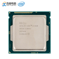 Intel Core i5 4690 Desktop Processor i5 4690 Quad Core 3.5GHz 6MB L3 Cache LGA 1150 Server Used CPU
