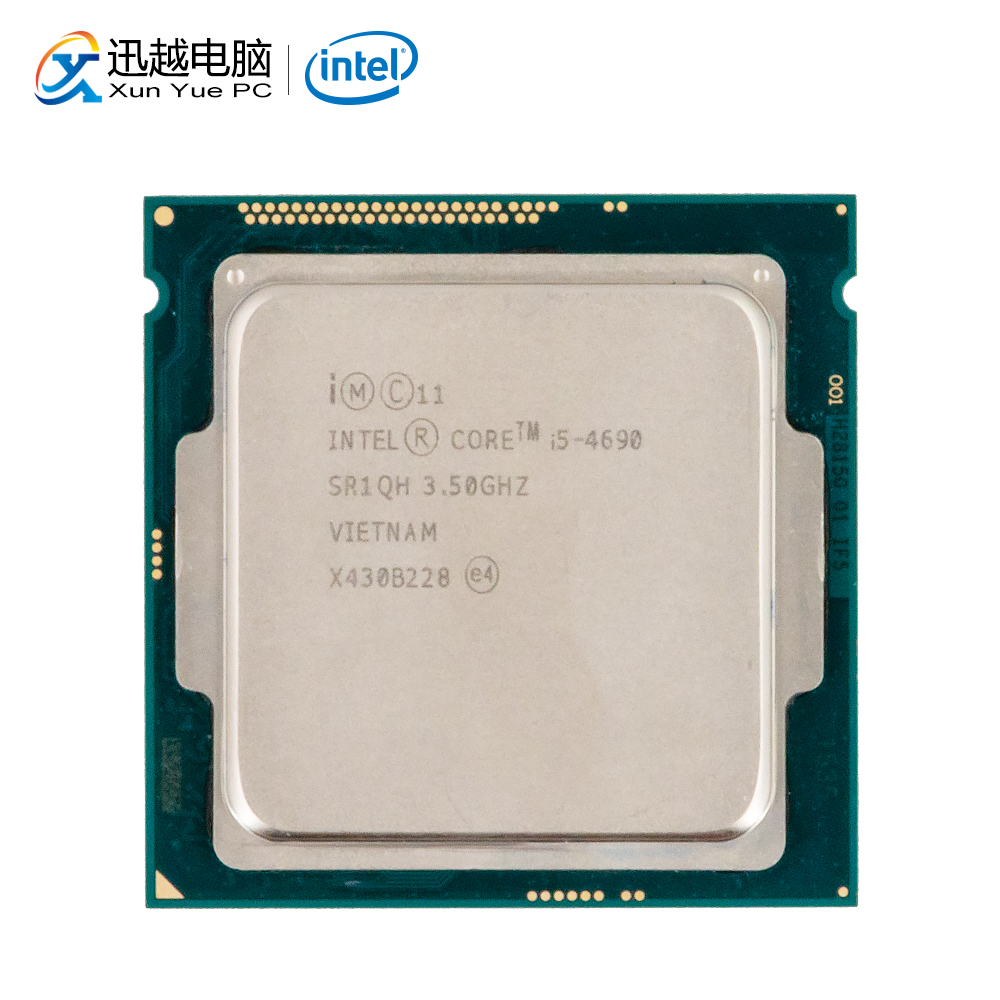 Intel Core i5-4690 Desktop Prozessor i5 4690 Quad-Core 3,5 GHz 6 MB L3 Cache LGA 1150 Server Verwendet CPU