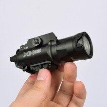 1000 التجويف XH35 X300UH B ضوء سلاح فائقة عالية الانتاج المزدوج الأبيض LED ضوء التكتيكية تعديل السطوع والضوء الأبيض القوية