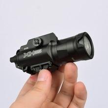 Arme à feu XH35 1000 lumens, lumière tactique blanche X300UH B, Ultra haute sortie, réglage de la luminosité et stroboscope blanc, LED lumens