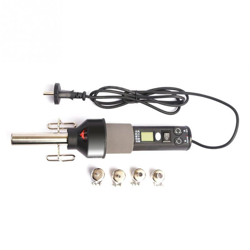 Heat gun 220v Electrical Temperature Digital Display Temperature Adjustable Building hair dryer Hot Air gun soldering Heat gun цена