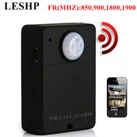 LESHP Mini PIR Alarm Sensor A9 Infrared GSM Wireless Alarm High Sensitivity Monitor Motion Detection Anti