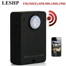 LESHP Mini PIR Alarm Sensor A9 Infrared GSM Wireless Alarm High Sensitivity
