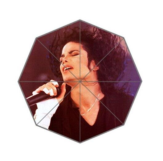 Fashion Design Umbrella Custom Michael Jackson Folding Umbrella For Man And Women Free Shipping UPC-088