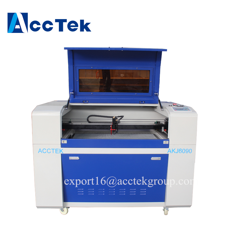 2018 hot sale cnc steel sheet metal wood acrylic acctek 3d co2 laser cutting machine with best price/auto focus co2 laser machin acctek china 6090 co2 die board laser cutting machine co2 laser wood cutter for sale