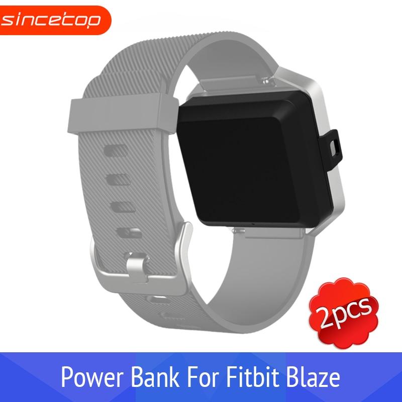 2PCS*Portable Power Bank, Charger for Fitbit Blaze, 400mAh Capacity, - Smart Electronics