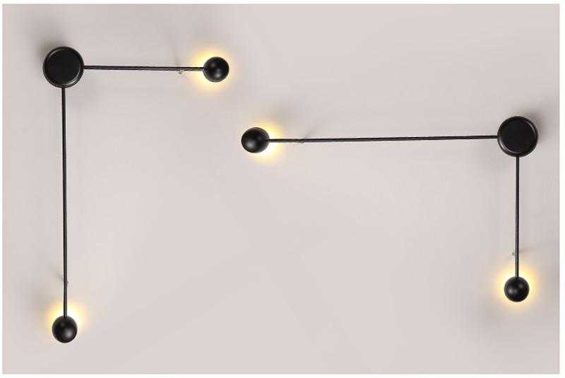 Slaapkamer Lamp Led : Moderne led schlafzimmer wand lampe licht designer korridor lampen
