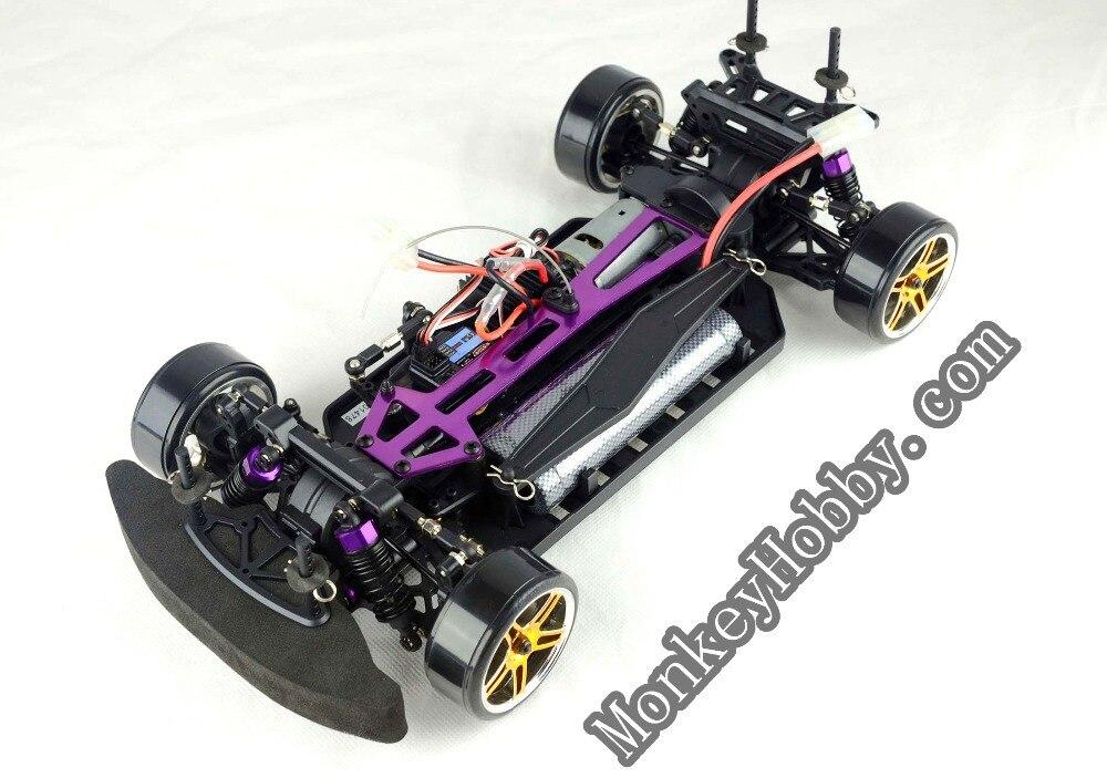 Hsp Purple Flying Fish Rc Electric Drift Car