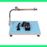 Free Shiping 100 240V 390x330mm Board WAX Cutting Machine Working Stand Table Tool Styrofoam Cutter CUTS FOAM KTFilm