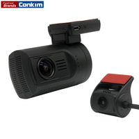 New Arrival Mini 0906 Two Camera GPS Car DVR 1080P Full HD Rear View Camera Super