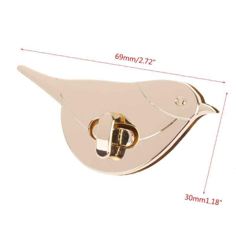BDTHOOO 1 шт. металлическая застежка Включите Блокировка замка для DIY сумка-кошелек аппаратные средства синтетическое закрытие волос детали для сумок аксессуары