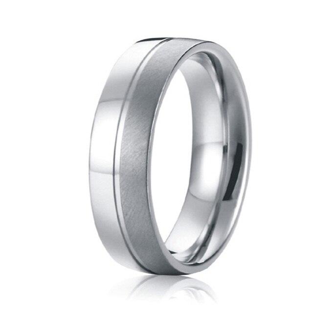 never fade custom handmade mens wedding band titanium steel ringin