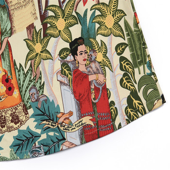 2019 Summer Women Skirt Fashion Bodycon Mini Skirt Female Character Print Skirts Faldas Mujer Jupe Femme Womens Clothing 3