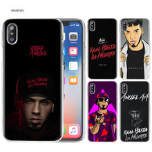 Anuel aa Ozuna Fashion Shell Case Cover Clear Hard PC Plastic for iPhone XS Max XR 7 8 6 6s Plus X 5 5s SE 5C 4 4S Coque Fundas(China)