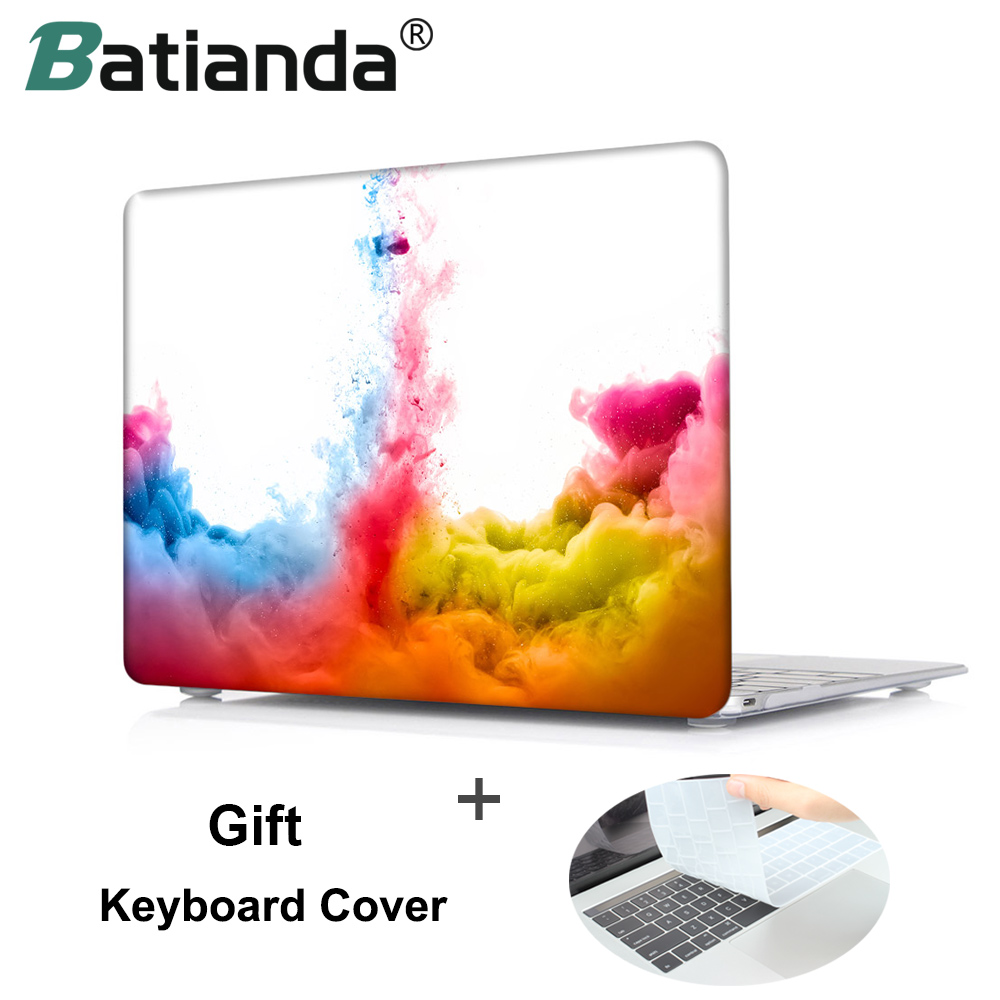 все цены на Batianda for Apple Macbook Pro 13 15 Touch Bar Hard Case Cover for Mac Pro air 13.3 11.6 inch Laptop Shell+Keyboard Cover S