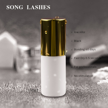 SONG LASHES 5ml Fast dry no odor no simulation lash glue eyelash glue eyelash extension glue individual eyelash glue  no color glue