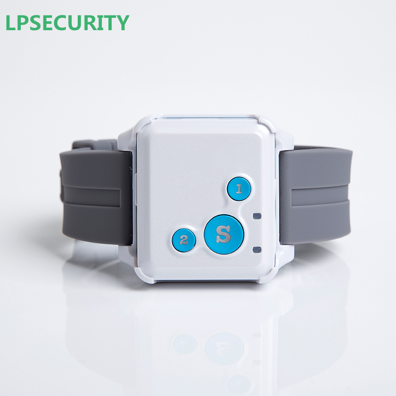 LPSECURITY GSM Tracker Personal Child gift with GPS Locator function Real Time Tracking SOS Voice Monitor Free APP Tracking mini portable gps locator real time tracker sos communicator with lanyard for car person