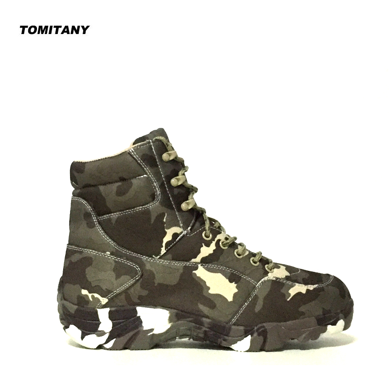 Outdoor Men Military Tactical Boots Waterproof Canvas Camouflage Camping Trekking Boot Climbing Hiking Shoes Man Hiking SneakersOutdoor Men Military Tactical Boots Waterproof Canvas Camouflage Camping Trekking Boot Climbing Hiking Shoes Man Hiking Sneakers