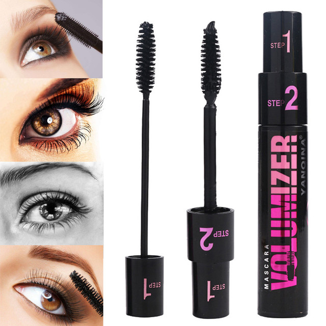 Double End Lengthening Eyelashes Fiber Lash Eyelash Growth Mascara