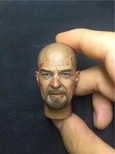 1/6 Scale Breaking Bad Walter White Bryan Cranston Head Sculpt