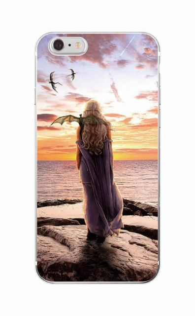 Game Of Thrones Inspired Soft Phone Case For iPhone Samsung