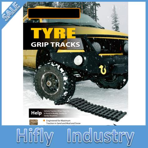 Hy 100t recovery tracks tire grip tracks car trailer plate slip resistant plate pahs certificate