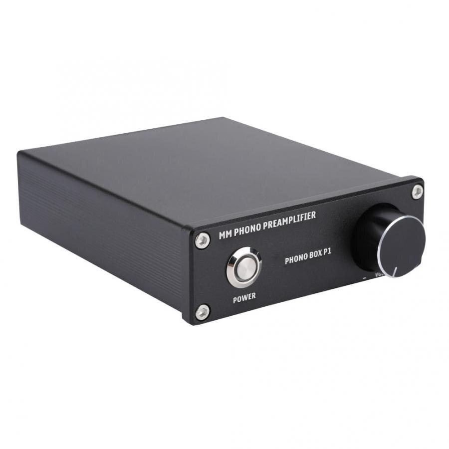 MM cartouches Phono amplificateur Audio HiFi Mini préamplificateur platine vinyle amplificateur commutation Volume d'entrée amplificateur RCA plaqué or