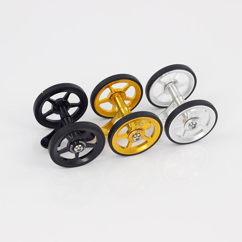 Vélo EasyWheels garde-boue vélo Double roues pour Brompton Foldingbike arrière garde-boue vélo accessoires