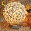Sal lámparas dormitorio moderno de noche creativa lámpara de mesa lámpara incandescente E14 110 V 220 V dimmer iluminación nocturna centellante